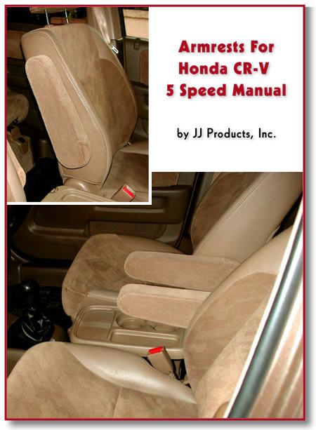 Honda CRV Armrest | Honda CR-V Armrests| Passenger | Driver | 5 Speed | 1997-01 | 2002-06