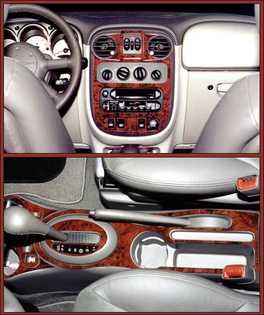 Pt Cruiser Wood Dash Kits Rosewood Dash Kit Burlwood